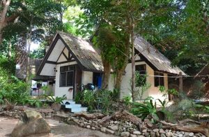 Rustic Bungalows at National Park Headquarters