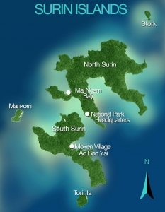 The Surin Islands