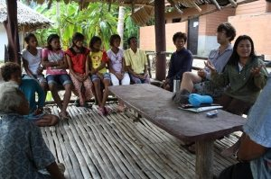 Guide Training in the Village