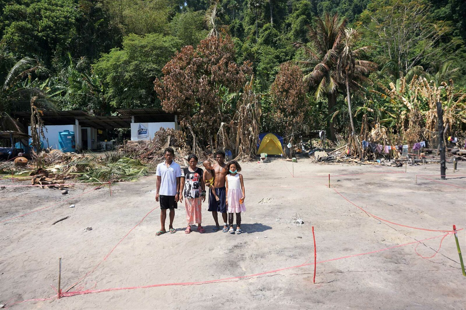 Rebuild Moken Village