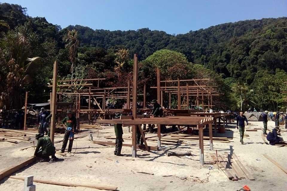 Moken Village Fire Update Day 12