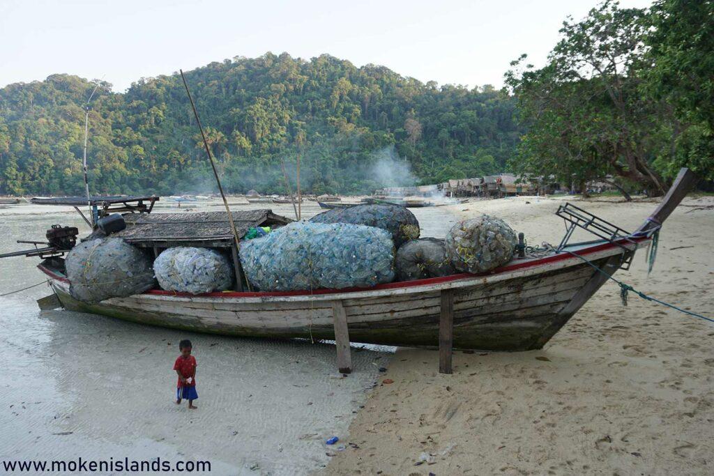 Ocean trash collection
