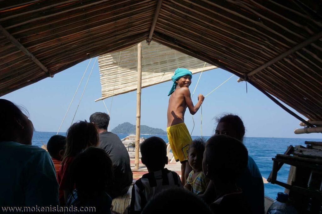 Sailing a Kabang