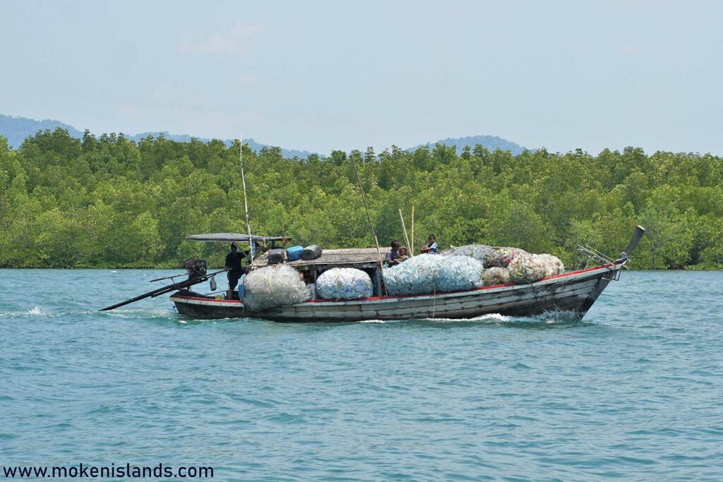 Taking ocean rubbish to the mainland