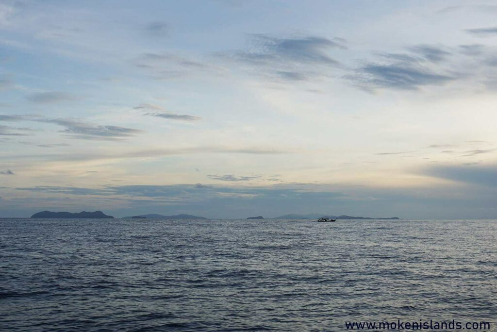 Getting to the mainland from Surin
